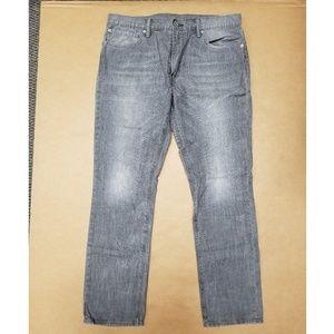 Levis 511 Slim Straight Jeans Mens Size 36x32 Grey